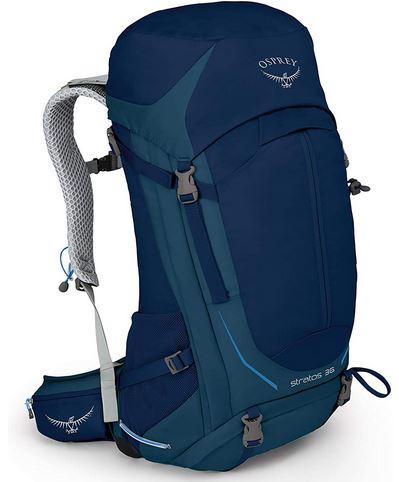 Ospray Stratos 36 - Mejores mochilas trekking - sendatrekking.com
