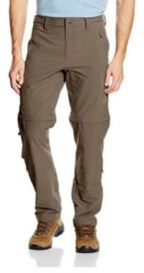 The North Face Expolartion Convertible - Mejores pantalones trekking desmontables